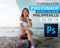 Cours Photoshop Niveau 1 & 2  – Philippeville