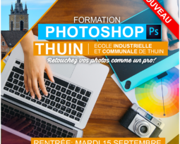 Formation Photoshop à THUIN